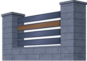 Забор премиум класса